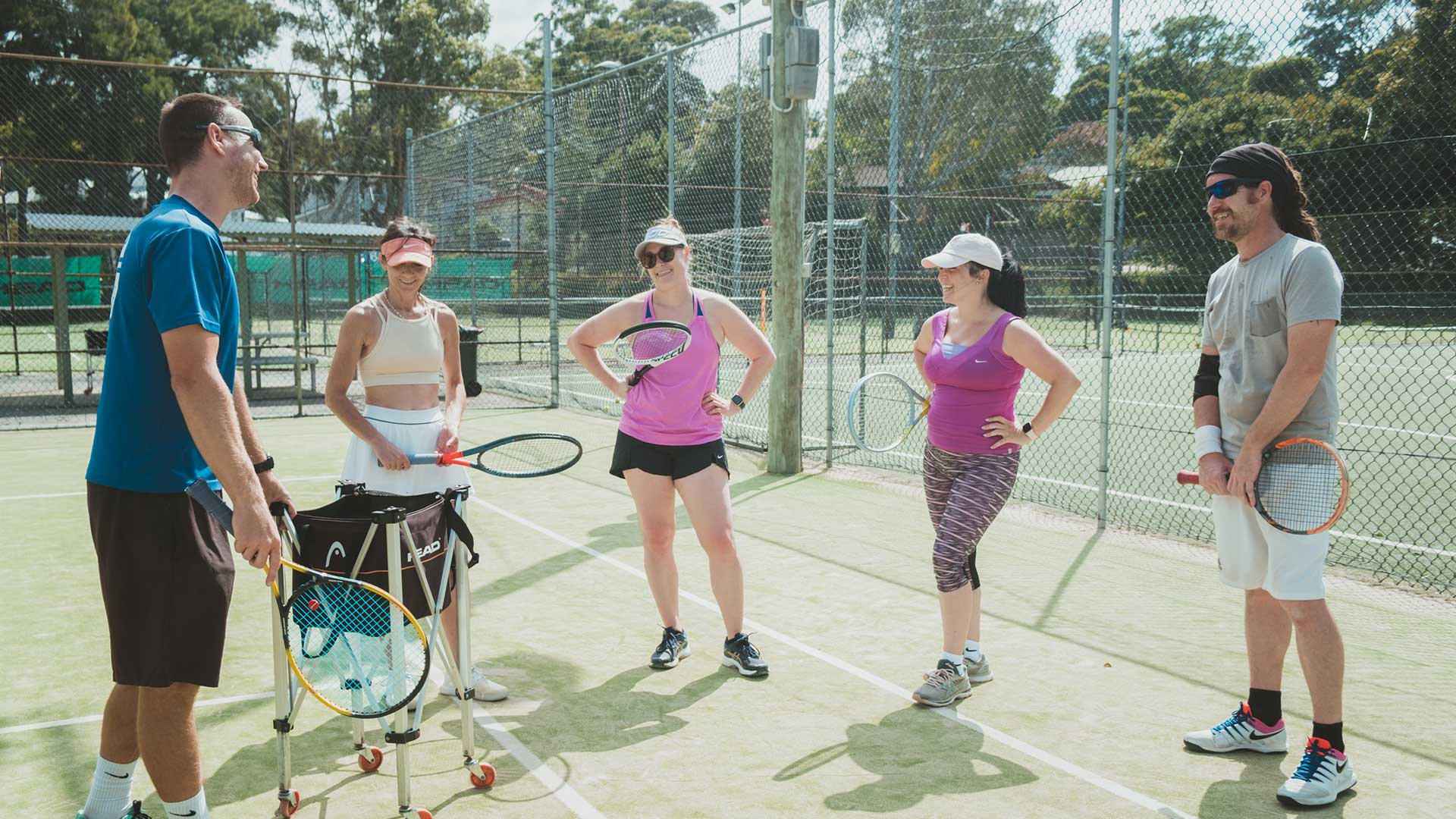 Tennis Lessons Concord