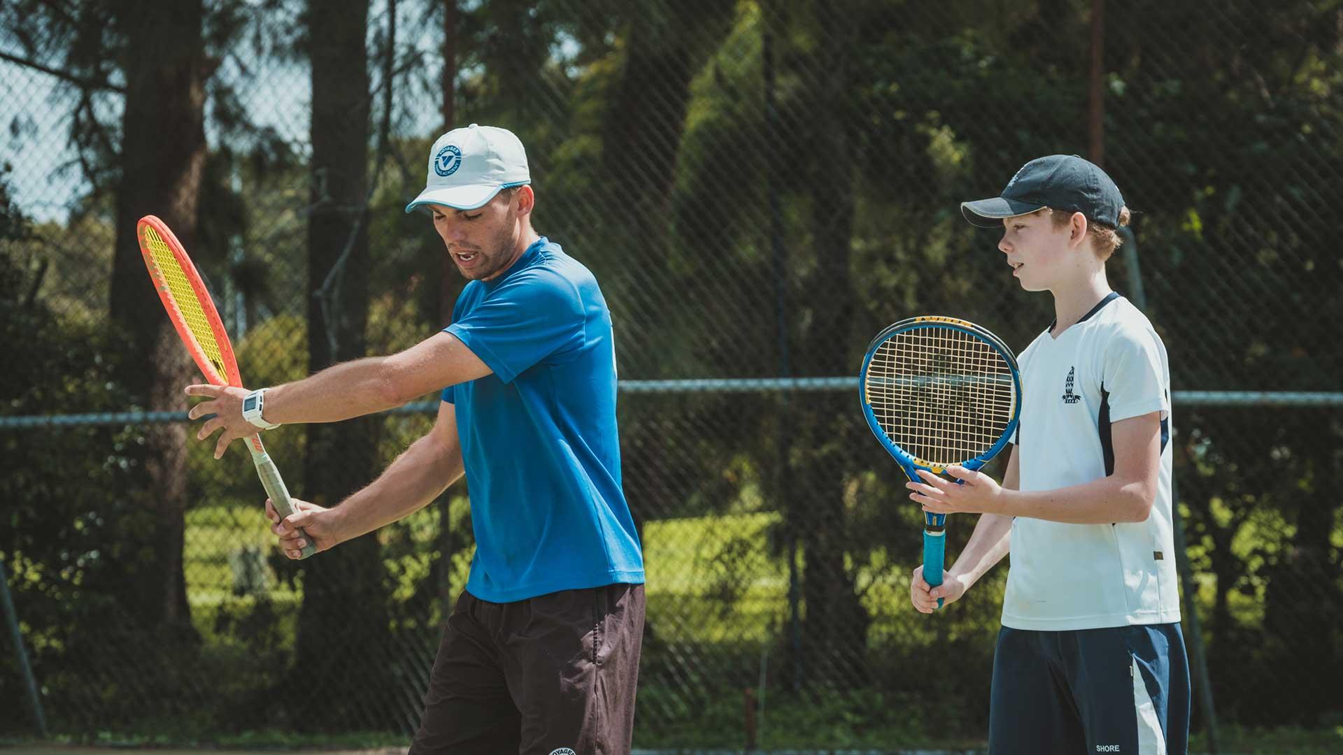 tennis private coaching